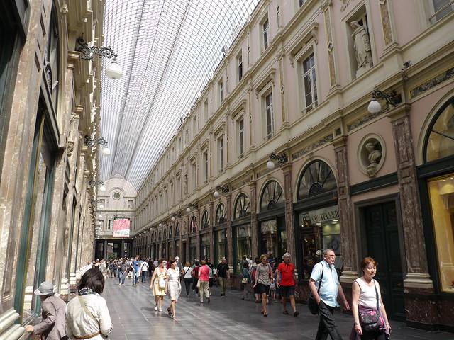 Bruxelles - Galeries Royales Saint-Hubert (Galerie de la Reine)