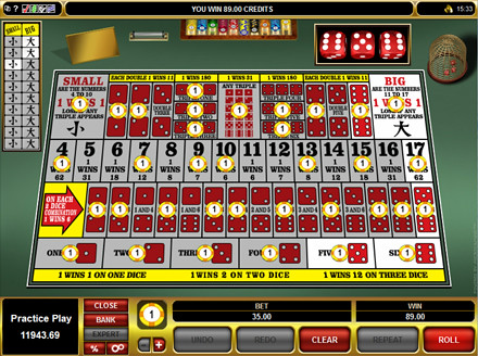 casino craps online free spin game
