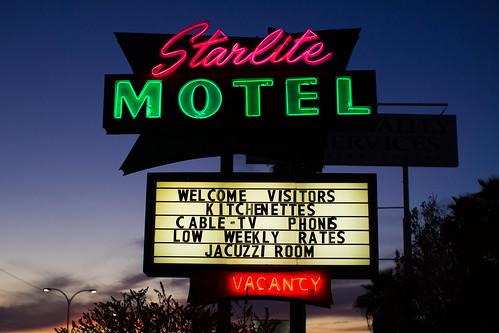 sunset arizona usa neon unitedstates fav50 unitedstatesofamerica motel mesa fav10 fav25 starlitemotel