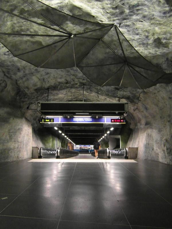 Stockholm - Tunnelbana - Fridhemsplan
