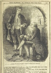 """British Library digitised image from page 123 of """"Paul Clifford : or, Hurrah for the road. A romance of old times"""""""