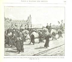"""British Library digitised image from page 589 of """"Paris à travers les siècles. Histoire nationale de Paris et des Parisiens depuis la fondation de Lutèce jusqu'à nos jours, etc"""""""