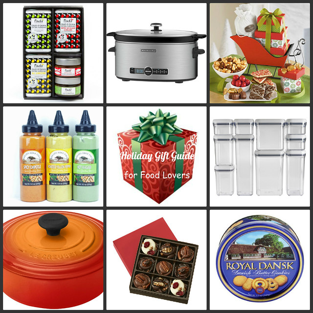 Holiday Gift Guide for Food Lovers | cookincanuck.com #giftguide #foodgifts