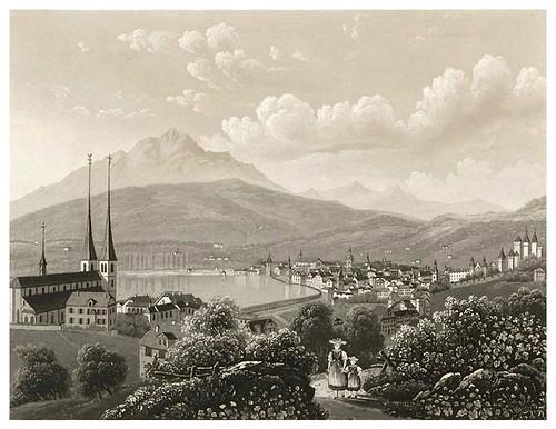 008-Lucerna-Cinquante vues pittoresques de la Suisse… -Vía e-rara