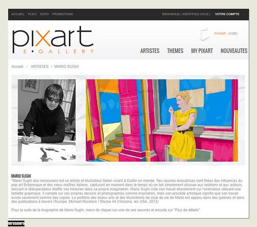 nerosunero now represented by Pixart E Gallery by nerosunero