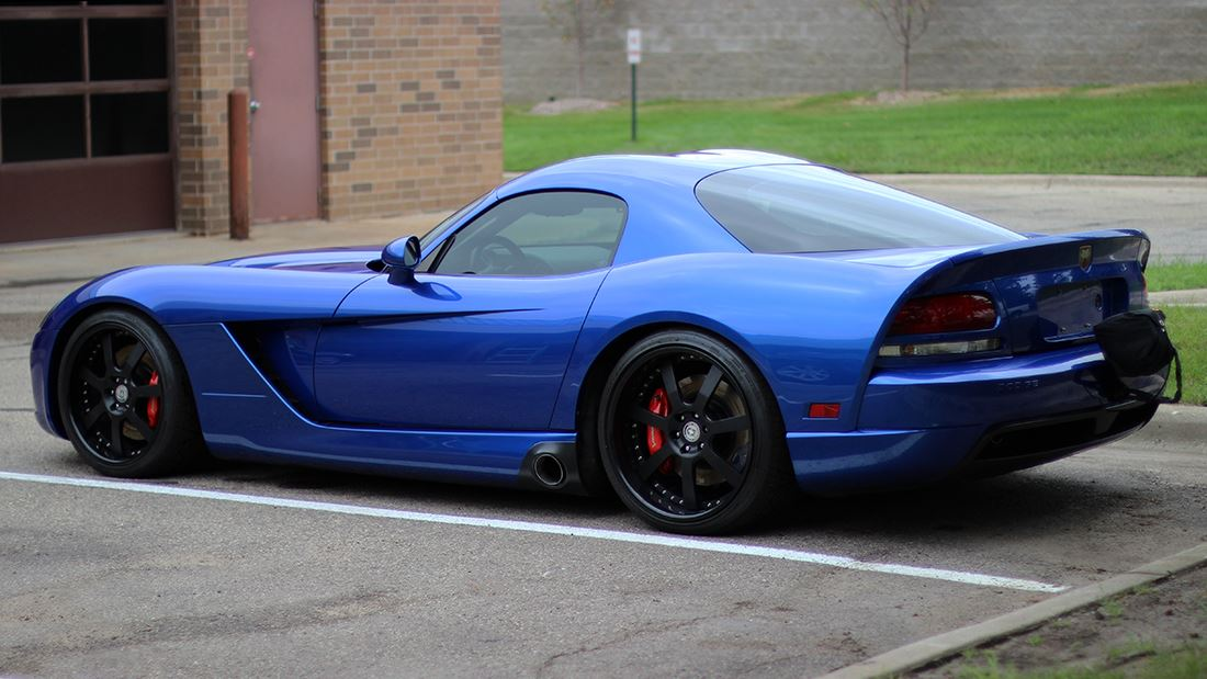 Dodge Viper 2017 Blue >> Twin-Turbo Dodge Viper Rocks the Dyno | HRE Performance Wheels