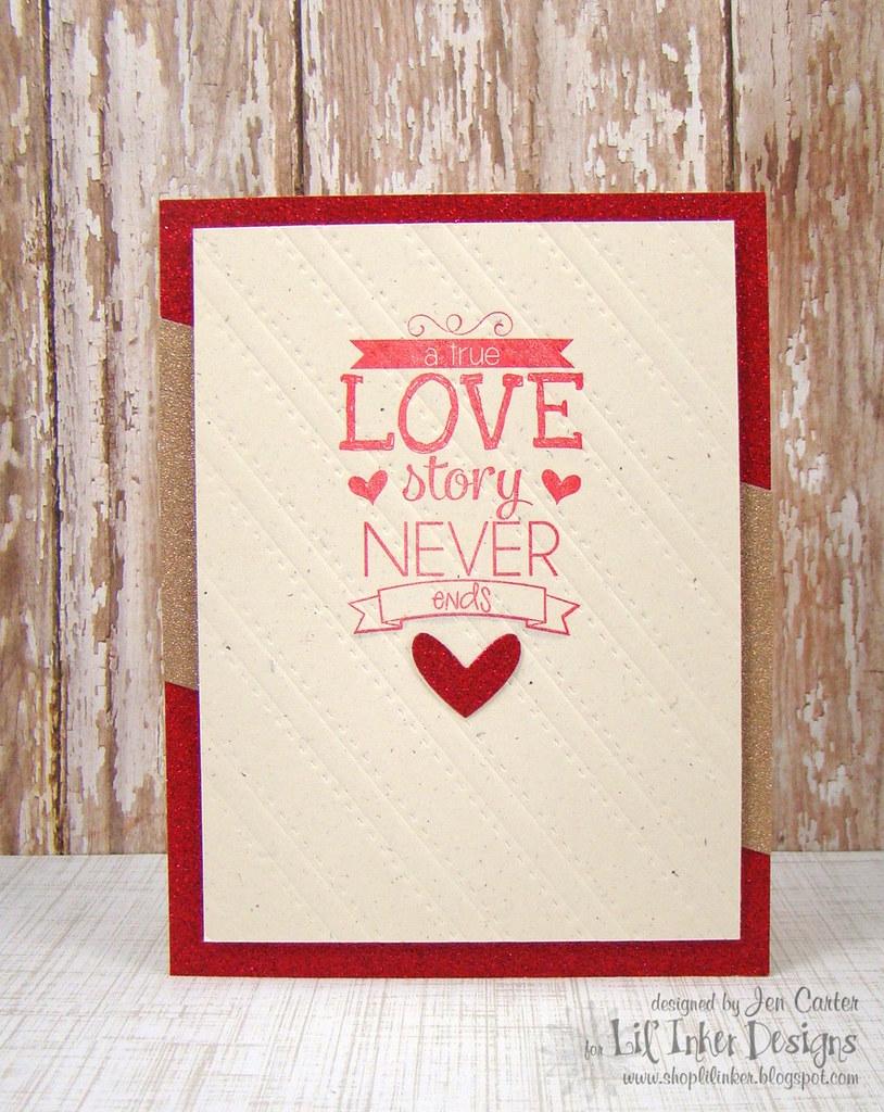 Jen Love Story Glitter