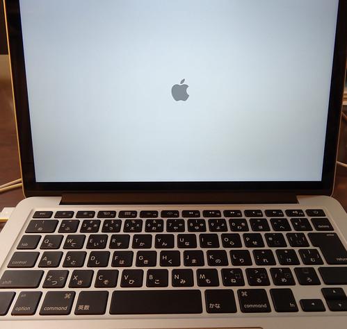 MacBookPro起動!