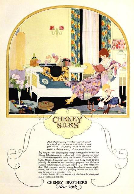 Cheney Silks, April 1922