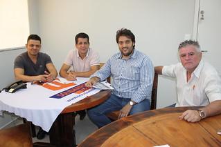 Luciano Rodrigues, David Martins, Daniel Grandolfo e Sandoval Fernandes