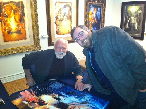 Drew Struzan and I