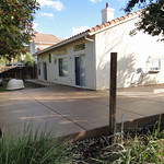 New Backyard Concrete In Vacaville