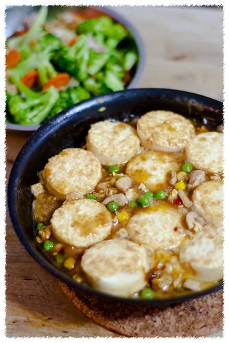 Sizzling Japanese Tofu