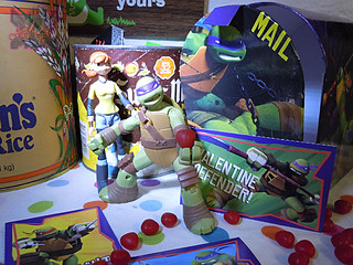 PAPER MAGIC GROUP :: Nickelodeon TEENAGE MUTANT NINJA TURTLES ; VALENTINE'S MAIL BOX ii (( 2014 ))