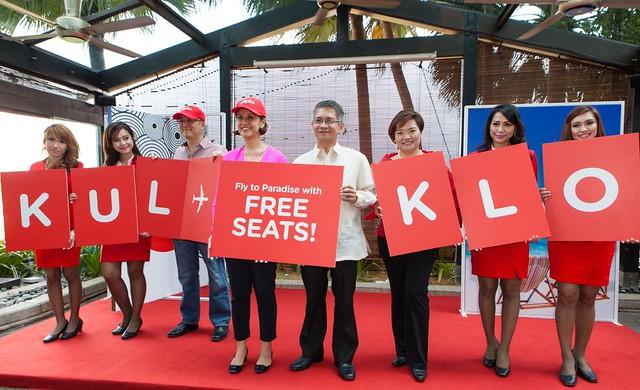 Air Asia KL - Kalibo Philippines