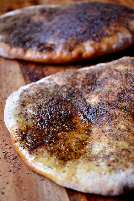 Za'atar Flatbread Recipe (2)