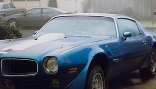1971 Pontiac Trans-Am Firebird