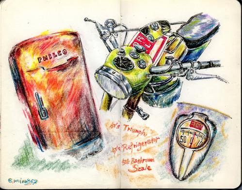 50's Triumph,Philco,Borg