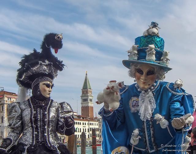 Carnaval de Venise 2014 masque et masqués Vénitien en Italie DSCF3693