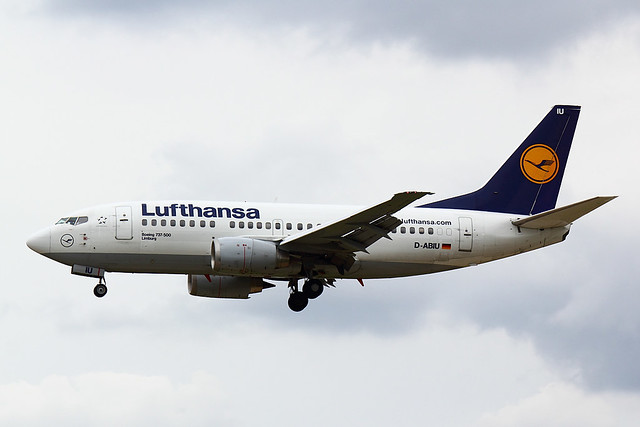 Lufthansa - B735 - D-ABIU (1)