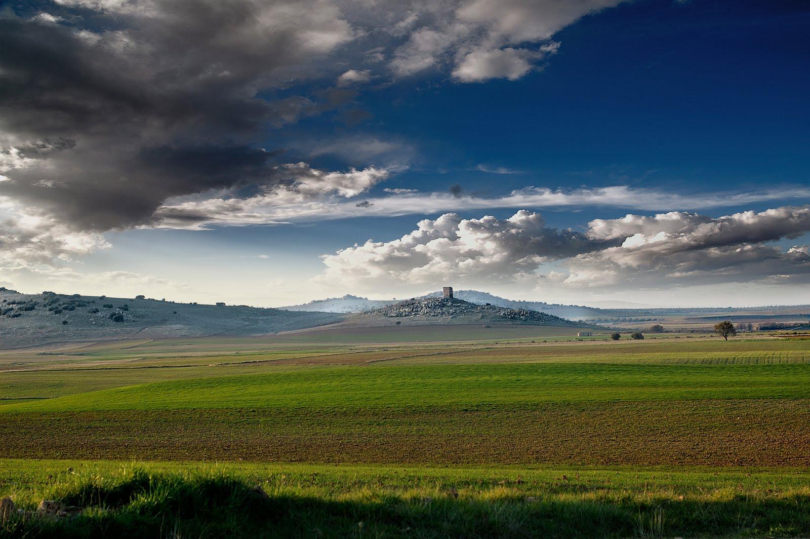 4. Paisaje del Campo de Montiel. Villamanrique. Autora, Sagrario Téllez Labrador