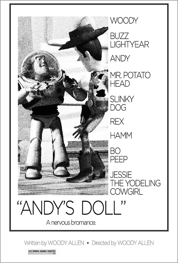 Toy Story + Noivo Neurótico, Noiva Nevosa