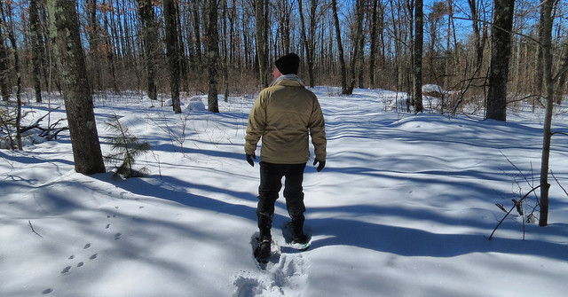 Snowshoeing With Roger