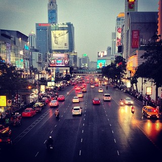 Bangkok in the Evening