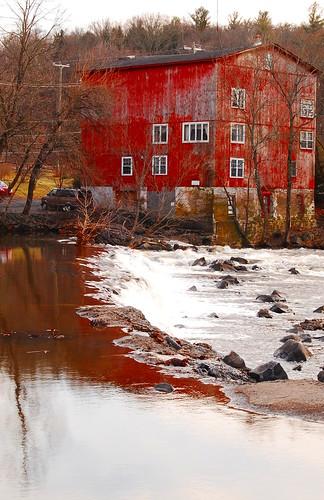 old winter reflection creek landscape waterfall nikon stream d rustic scenic warehouse 40 waterscape d40 jtleagles