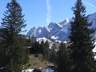 Die Hütte am Kaiser