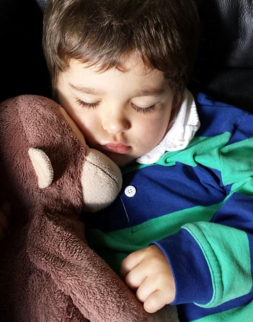 NO nap; NOT tired, mummy #snoring