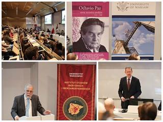 Octavio Paz y el siglo XX mexicano, conferencia del Presidente de El Colegio de México en Varsovia