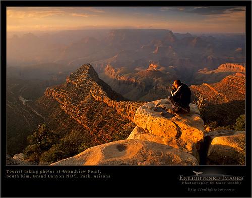 Photographer at Grand Canyon