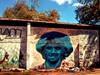 Maradona en el barrio de la Boca.