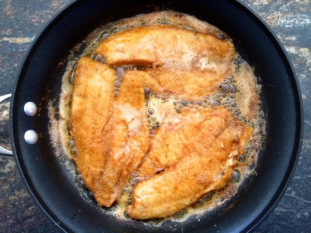 Tilapia Fillets, Turned