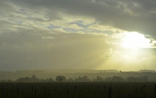 sunset sun sunlight landscape nsw sunshower lismore nearsunset ruralaustralia northernrivers rurallandscape wilsonsrivervalley gundurimba