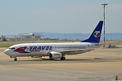 Travel Service Airlines OK-TVT Boeing 737-86N Winglets cn/39394-3899 @ Marseille Provence Airport LFML / MRS 13-06-2014