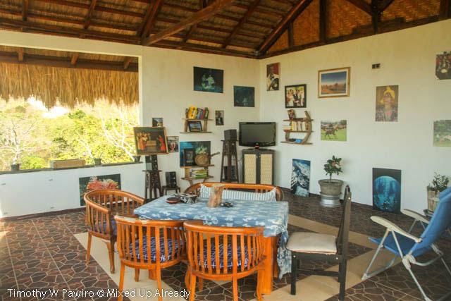 Indonesia - Sumba - Tarimbang - Peter's Magic Paradise - Dining and living room