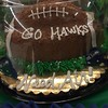 A cake to support #deflategate #GoHawks