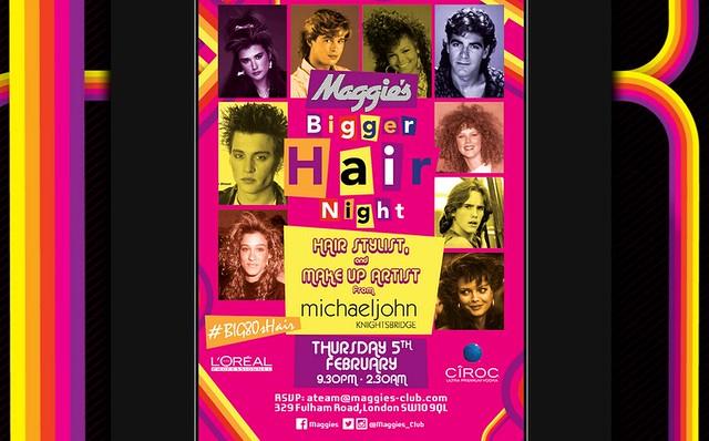 Maggies Bigger Hair Night