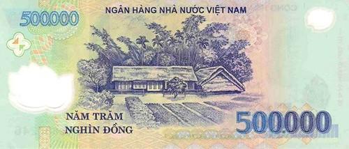 Vietnam 500,000 bill