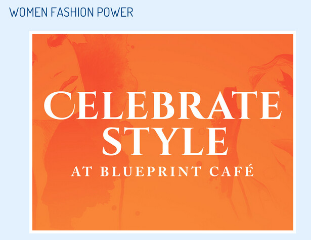 Women fashion power menu at blueprint caf design museum tikichris women fashion power menu at blueprint caf design museum malvernweather Images