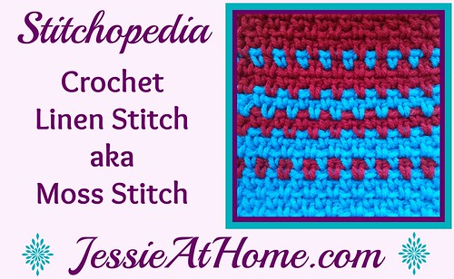 Stitchopedia-Crochet-Linen-Stitch