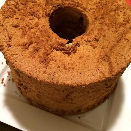 Coffee Marble Chiffon Cake 2