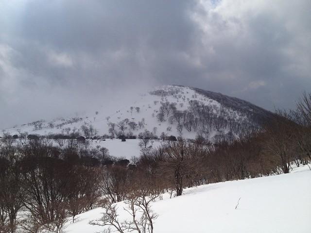藤原岳 藤原山荘より