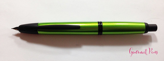 Review Pilot Vanishing Point Valley Green Fountain Pen @PilotPenUSA (6)