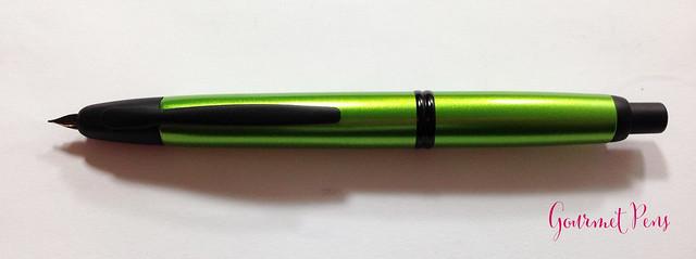 Review Pilot Vanishing Point Valley Green Fountain Pen @PilotPenUSA (6)