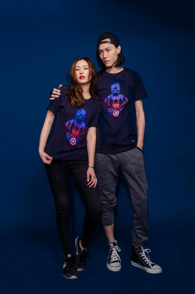 《美國隊長3:英雄內戰》你挺哪一邊!?穿上T恤展現你的支持!