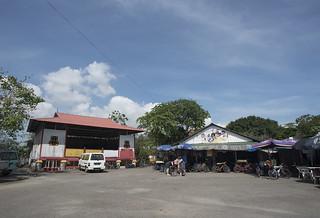Wayang Stage at Ubin Town