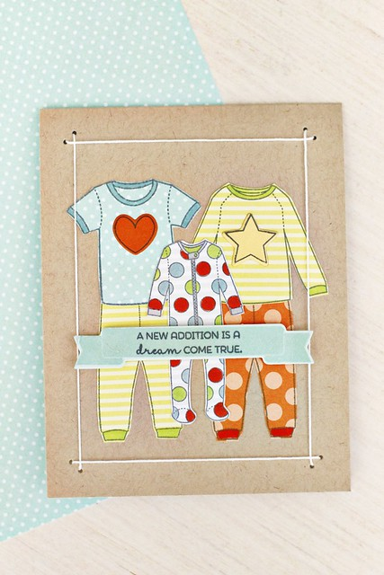 Sweet Dreams and String Frames by Papertrey Ink
